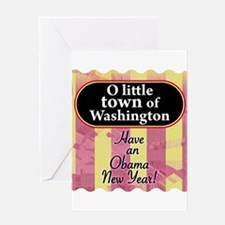 O little town of Washington Greeting Card