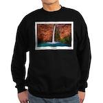 Mooney Falls and Pool Sweatshirt (dark)