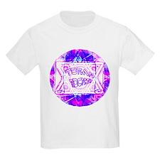 Torah Rocks Blue & Purple Kids T-Shirt
