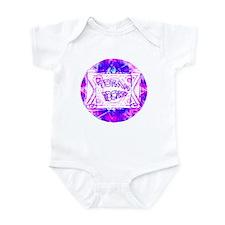 Torah Rocks Blue & Purple Infant Creeper