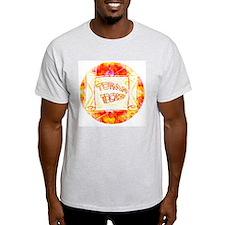 Torah Rocks Orange Ash Grey T-Shirt