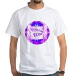 Torah Rocks Blue & Purple White T-Shirt