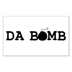 Da Bomb Rectangle Decal