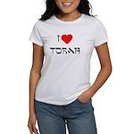 I Heart Torah Women's T-Shirt