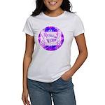 Torah Rocks Blue & Purple Women's T-Shirt