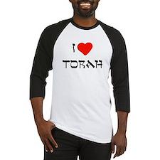 I Heart Torah Baseball Jersey