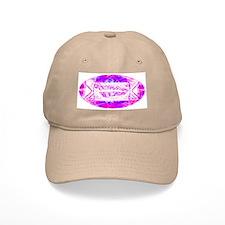 Torah Rocks (Pink) Baseball Cap