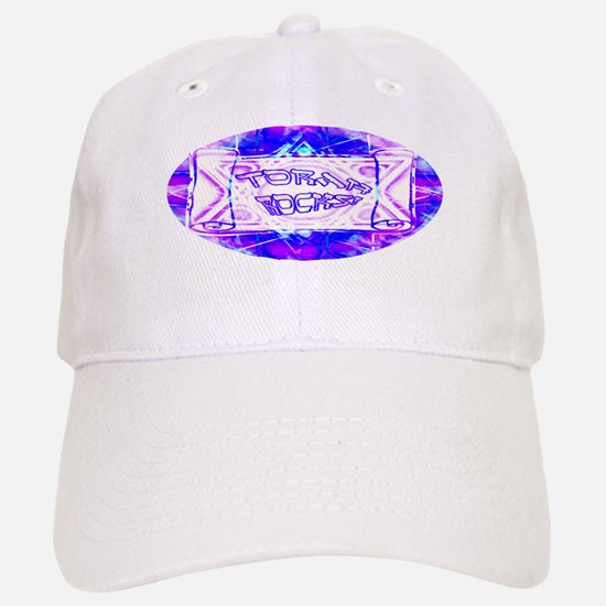 Torah Rocks (Blue & Purple) Baseball Baseball Cap