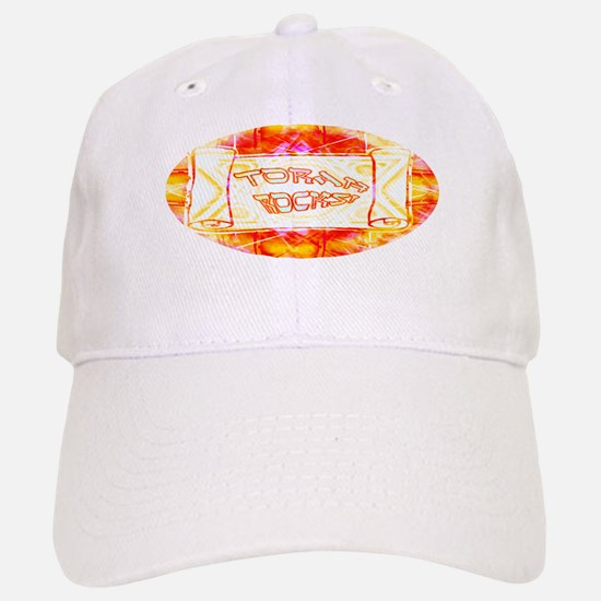 Torah Rocks (Orange) Baseball Baseball Cap