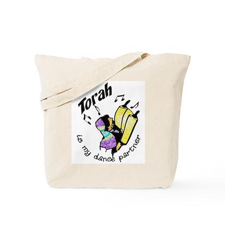Torah is My Dance Partner Tote Bag
