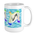 I Love Torah Large Mug