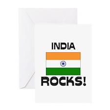 India Rocks! Greeting Card