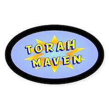Torah Maven Oval Decal