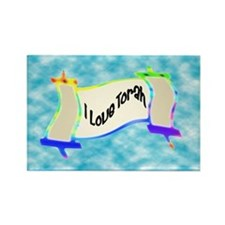 I Love Torah Rectangle Magnet