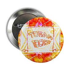Torah Rocks (Orange) Button