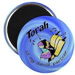 Torah is My Dance Partner Magnet