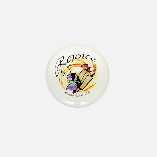 Rejoice Simchat Torah 5766 Mini Button