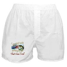 Catchin' Bass & Burnin' Gas Boxer Shorts