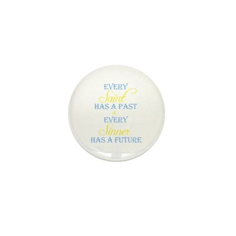 Saints and Sinners Mini Button