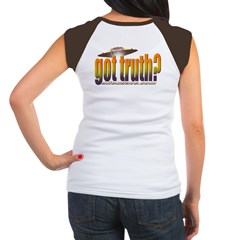 got truth? orange Women's Cap Sleeve T-Shirt