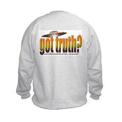 got truth? orange Sweatshirt