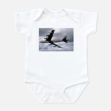Cute B 52 bomber Infant Bodysuit