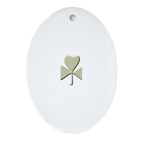 Irish Oval Ornament