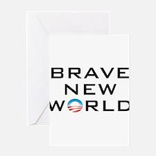 Brave New World Greeting Card