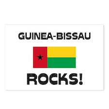 Guinea-Bissau Rocks! Postcards (Package of 8)