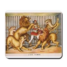 The Lion Tamer Mousepad