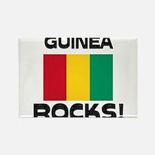 Guinea Rocks! Rectangle Magnet