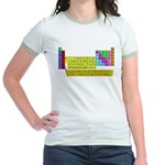 Periodic Table of Elements Jr. Ringer T-Shirt