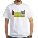 Periodic Table of Elements White T-Shirt