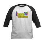 Periodic Table of Elements Kids Baseball Jersey