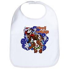 Santa Paws Bib