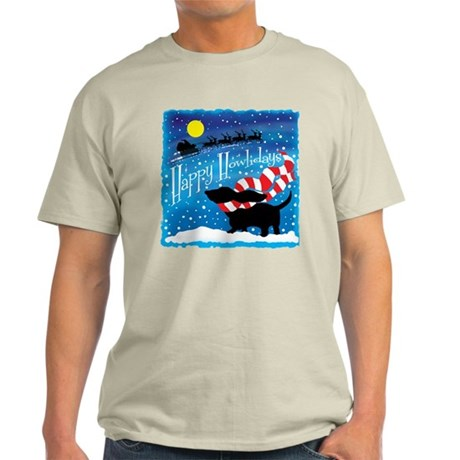 Basset Scarf Light T-Shirt