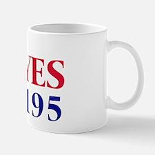 Vote YES on Prop 195 Mug