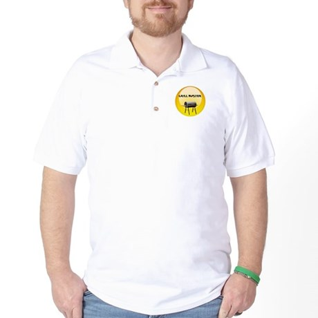 GM_button1 Golf Shirt