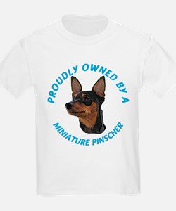 Proudly Owned Min Pin T-Shirt