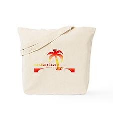 1970's Costa Rica Souvenir De Tote Bag
