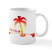 1970's Costa Rica Souvenir De Small Mug