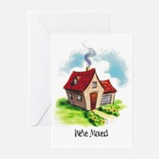 New Address Greeting Cards (Pk of 10)