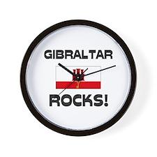 Gibraltar Rocks! Wall Clock