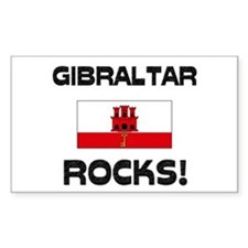 Gibraltar Rocks! Rectangle Decal