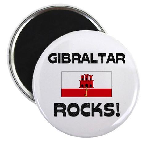 "Gibraltar Rocks! 2.25"" Magnet (10 pack)"