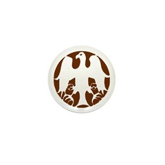 Tribal Eagle Mini Button (100 pack)