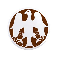 """Tribal Eagle 3.5"""" Button (100 pack)"""