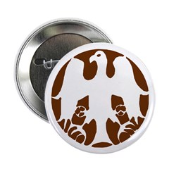 "Tribal Eagle 2.25"" Button (10 pack)"
