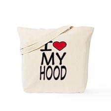 I Love My Hood -- T-Shirts Tote Bag