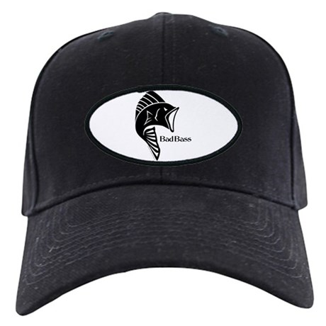 Bad Bass Fishing Black Cap